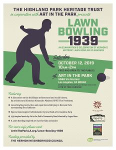 Lawnbowling 1939 poster